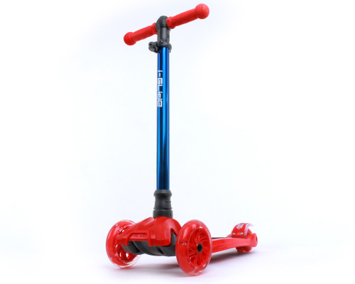 i-Glide Kids 3-Wheel Scooter | Red/Blue Neo