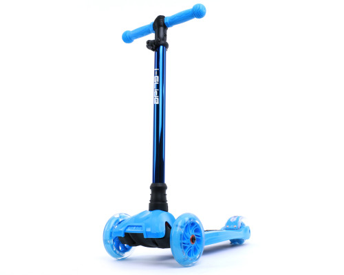 i-Glide Kids 3-Wheel Scooter | Blue/Blue Neo