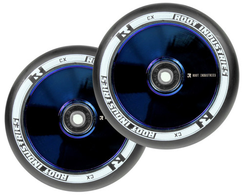 Root Industries AIR 110mm Wheels | Specialty | Black PU | Blu-Ray | Pair