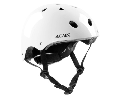 GAIN The Sleeper Helmet | Adjustable | Gloss White
