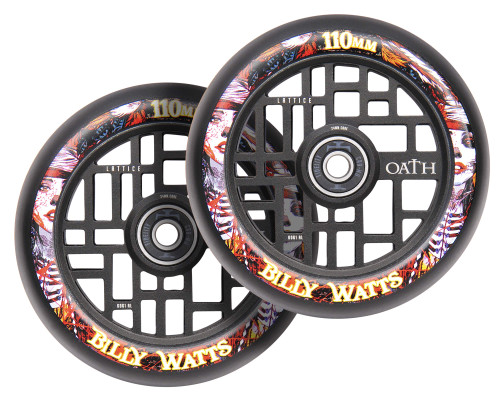 Oath Lattice Wheels | 24mm x 110mm | Billy Watts Signature