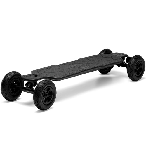 The Evolve GTR CARBON ALL-TERRAIN Electric Skateboard Features a 100% Handmade Deck From the Highest Grade Carbon Fibre