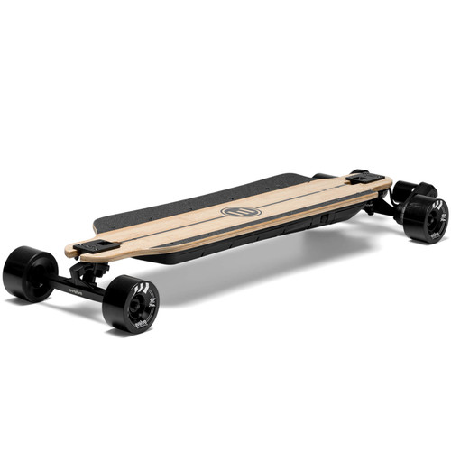 The Evolve GTR Bamboo Street Electric Skateboard Features Eco Friendly Bamboo and Fibreglass Construction