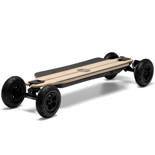 The Evolve GTR Bamboo All-Terrain Electric Skateboard Features Eco Friendly Bamboo and Fibreglass Construction
