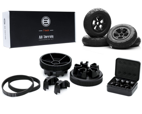 Evolve Electric Skateboard | All Terrain Conversion Kit | 175mm (7 Inch / 66T)