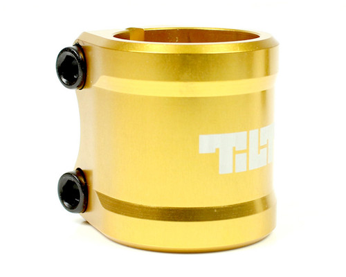 Tilt ARC Double Clamp | Oversize | Gold