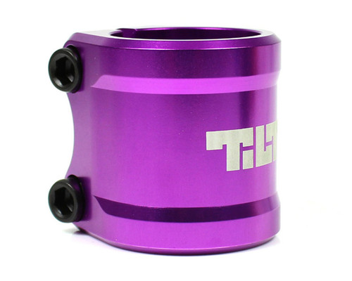 Tilt ARC Double Clamp | Oversize | Purple