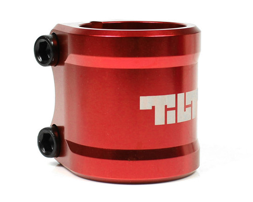Tilt ARC Double Clamp | Oversize | Red