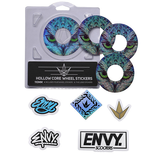 Envy Wheel Wraps | 120mm | Owl