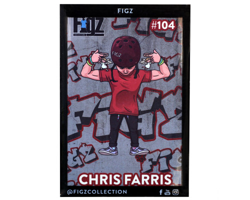Figz Collection Sticker | #104 | Chris Farris