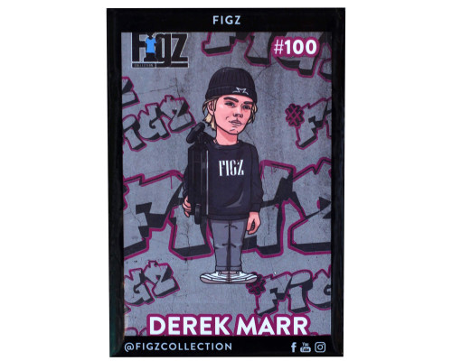 Figz Collection Sticker | #100 | Derek Marr