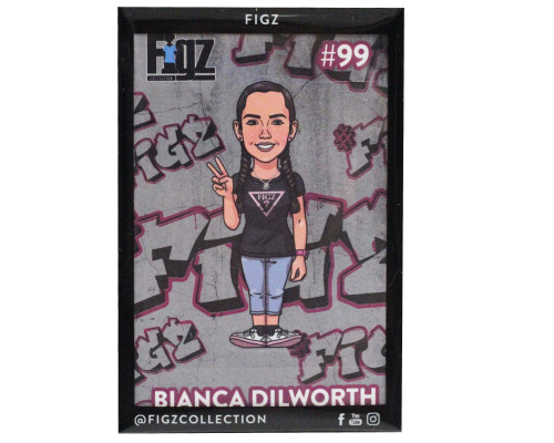 Figz Collection Sticker | #99 | Bianca Dilworth