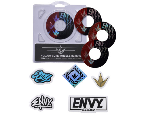 Envy Wheel Wraps | 110mm | Split