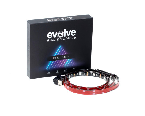 Evolve Electric Skateboard | Prism LED Strips