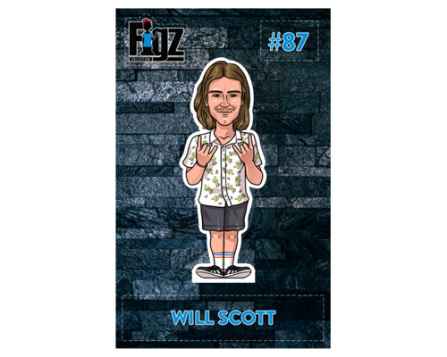 Figz Collection Sticker | #87 | Will Scott