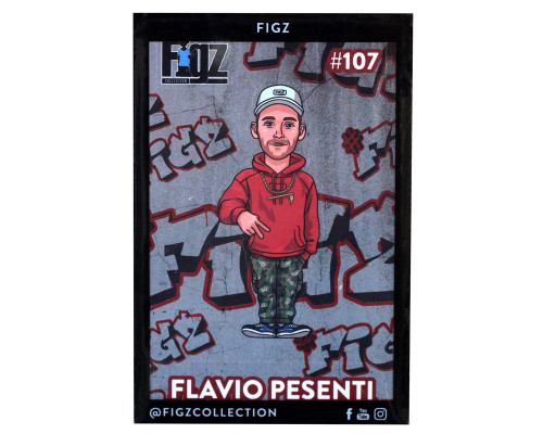 Figz Collection Sticker | #107 | Flavio Pesenti