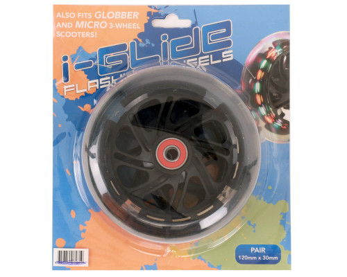 i-Glide 120mm Wheels | Standard | Pair