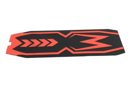 Kaabo Mantis Electric Scooter Part   Silicone Foot Mat   Red