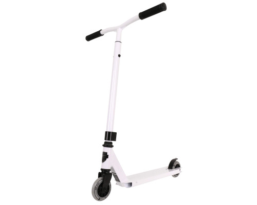 Grit Complete Scooter | 2-Height Bars | Atom DIY White