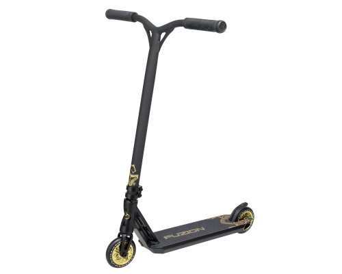 Fuzion Z350 Series 3 Complete Scooter | 2020 | Tall Bar | Black Gold