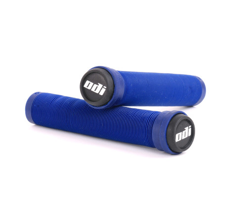 ODI Flangeless SLX Grips | 160mm | Navy Blue