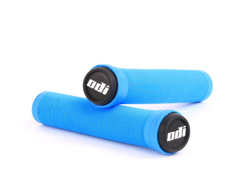 ODI Flangeless SLX Grips | 160mm | Light Blue