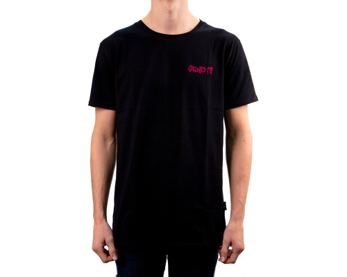 Figz Collection Adult T-Shirt | Send It | Pink