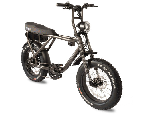 Ampd Brothers ACE PLUS Electric Bike | Charcoal Grey