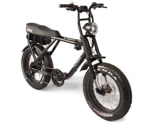 Ampd Brothers ACE PLUS Electric Bike | Matte Black