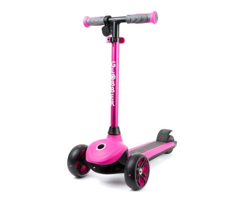 Globber 3-Wheel Kids Electric Scooter | ONE K e-Motion 4 |  Pink