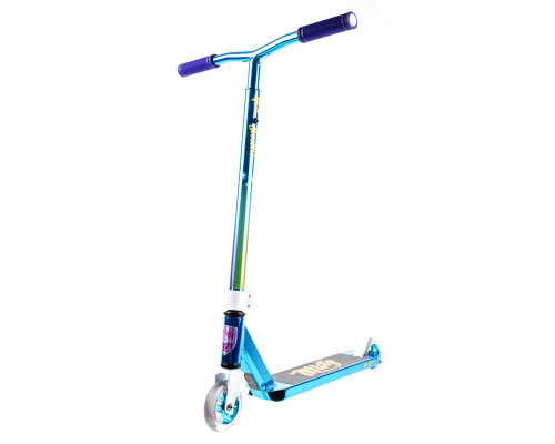 Grit Vibes Complete Scooter | 2-Height Bars | Misty Vapour Blue