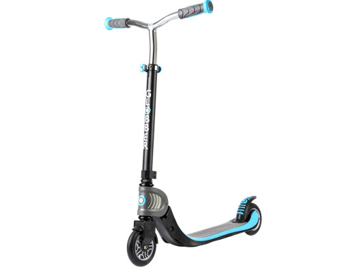 Globber Foldable Flow 125 Commuter Scooter | Sky Blue