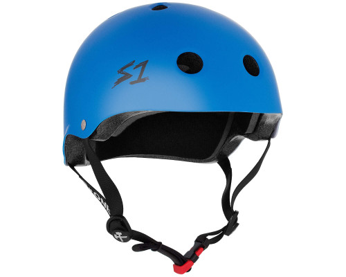 S1 MINI LIFER Certified Helmet | Cyan Matte