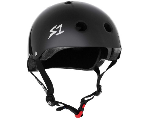 S1 MINI LIFER Certified Helmet | Black Gloss