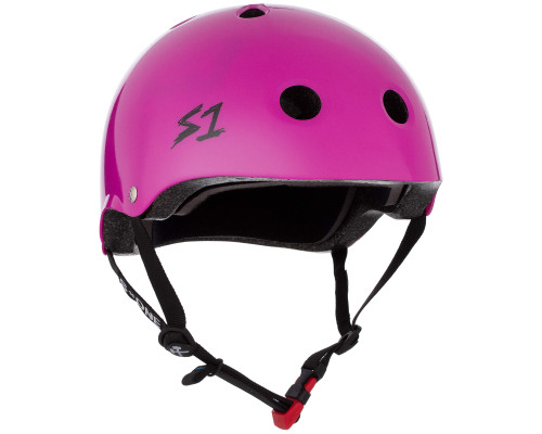 S1 MINI LIFER Certified Helmet | Bright Purple Gloss
