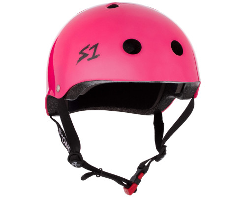 S1 Mini Lifer Helmet | Undialed Collab | Hot Pink Gloss