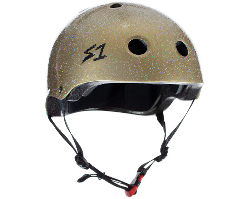 S1 MINI LIFER Certified Helmet | Gold Glitter