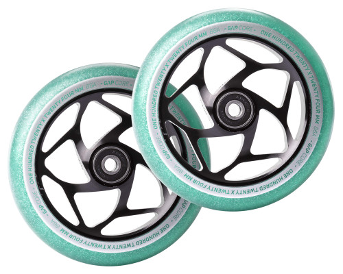 Envy Gap Core Wheels | 24mm x 120mm | Jade/Black