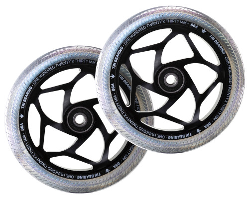 Envy Tri-Bearing Wheels | 30mm x 120mm | Galaxy/Black