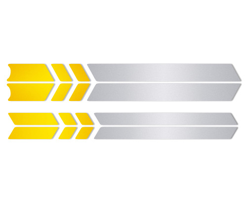 Xiaomi M365 / Pro | Safety Reflective Decals Full Scooter Kit (Yellow)