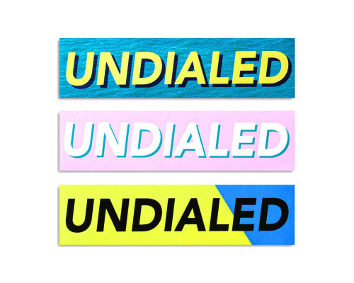 Undialed Sticker Pack | Cooked 3 Ways | 3 Pack