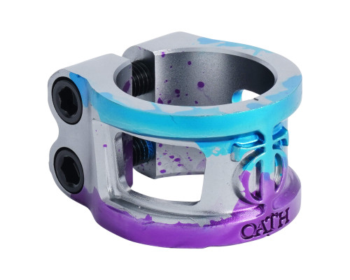 Oath Cage v2 Clamp | Oversize | Triple Anodised at Scooter Hut