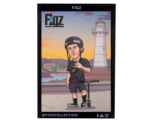 Figz Collection Sticker Pack + Trading Card | #109 | Angus Hughes