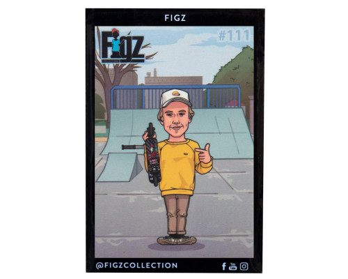 Figz Collection Sticker Pack + Trading Card | #111 | Bart Oskroba
