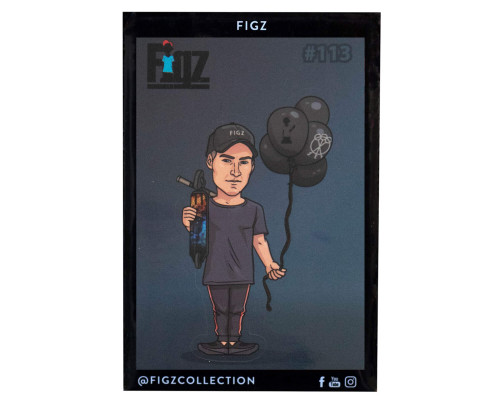 Figz Collection Sticker Pack + Trading Card | #113 | Matty Ceravolo