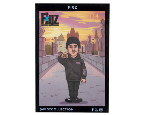 Figz Collection Sticker Pack + Trading Card | #114 | Richard Zelinka v2