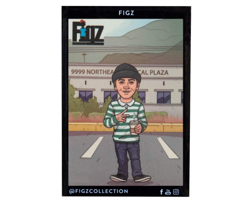 Figz Collection Sticker Pack + Trading Card | #115 | Nick Tedrick