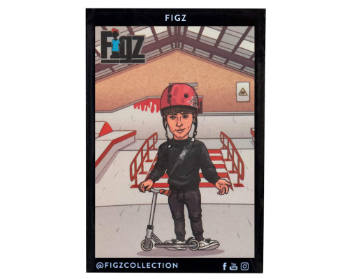 Figz Collection Sticker Pack + Trading Card | #116 | Leo Spencer