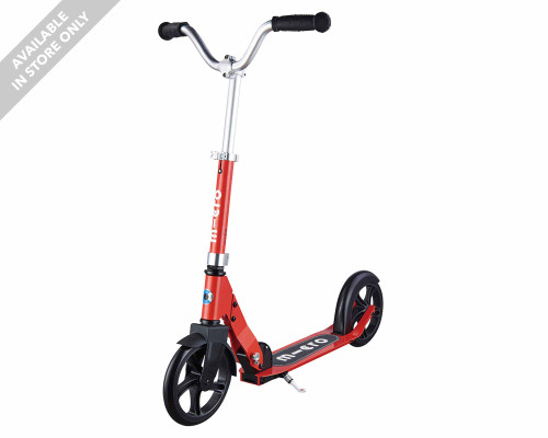 Micro Cruiser Commuter Scooter | Red - Thumbnail
