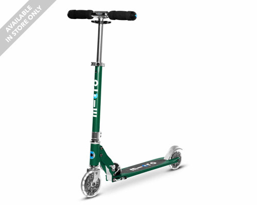 Micro Sprite LED Commuter Scooter | Forest Green